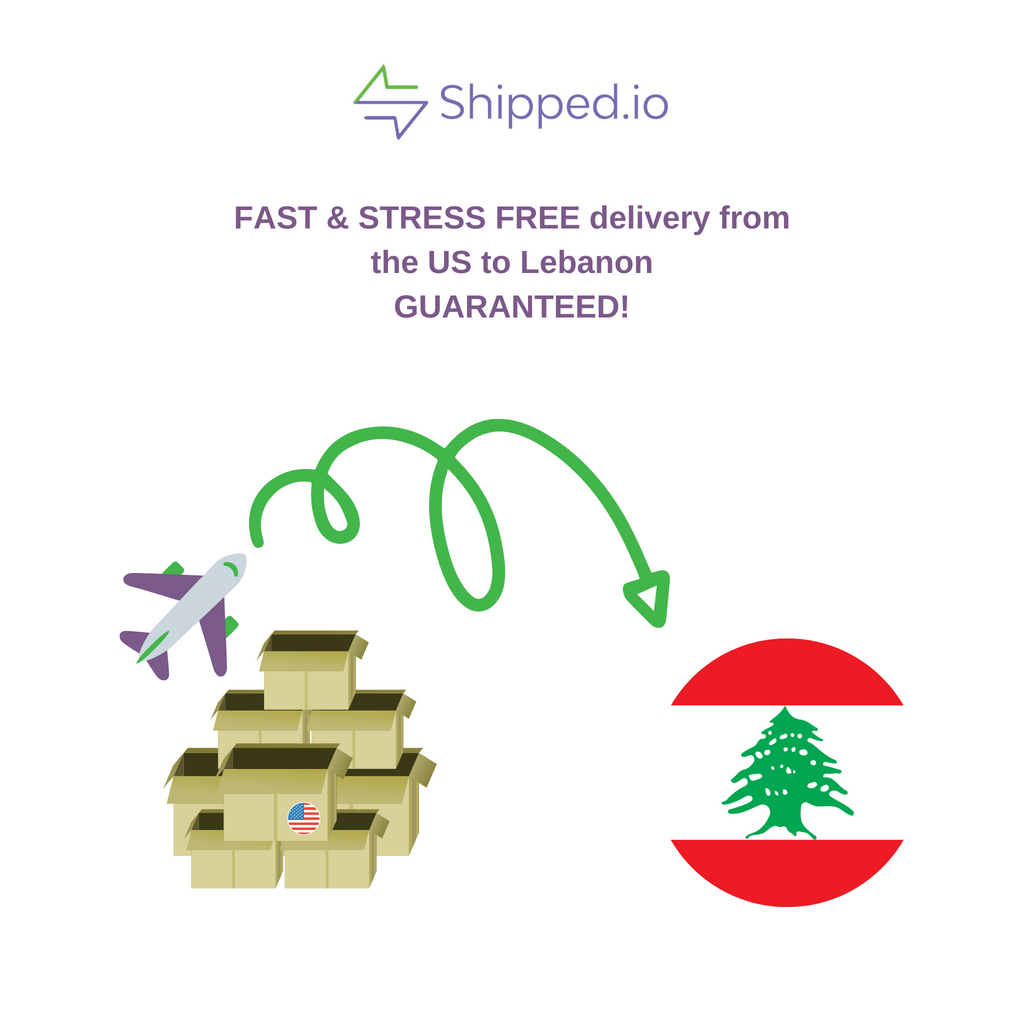 Shipping from US to Lebanon
