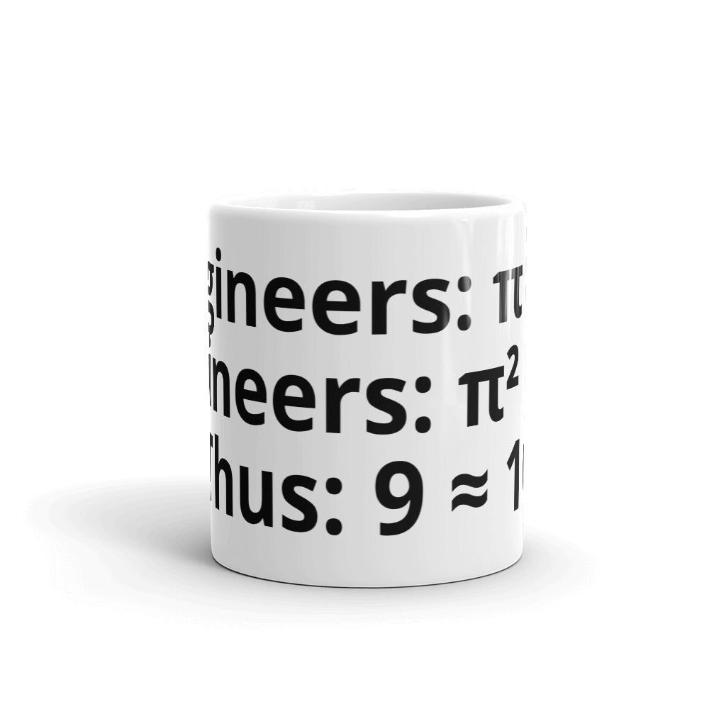 Engineer's Mathematics Meme Mug