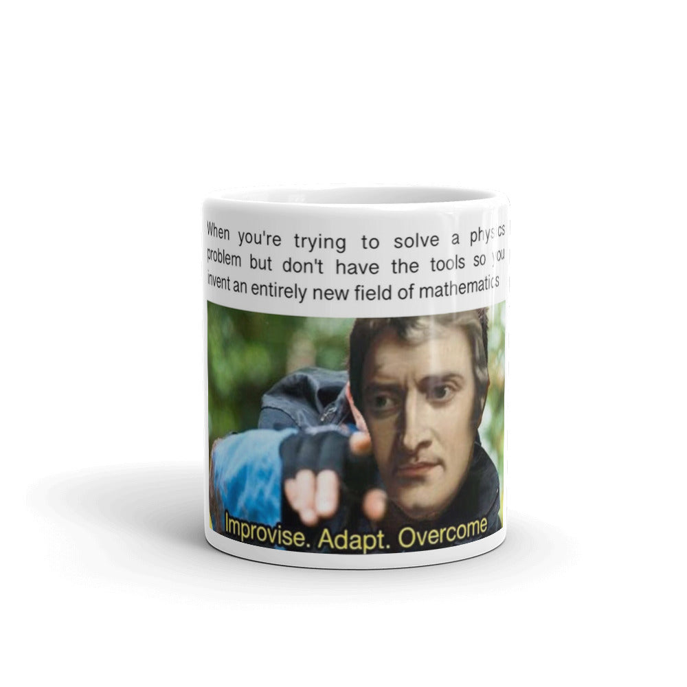 Calculus Invention Meme Mug