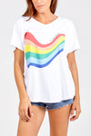 "Oversized Rainbow ""It's Going To Be Okay"" Top"