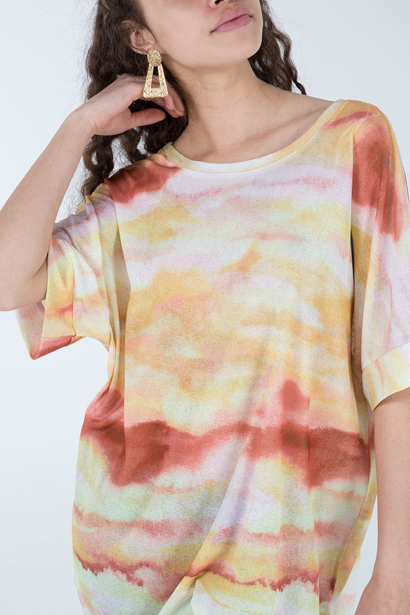 Sunset Oversized T-Shirt