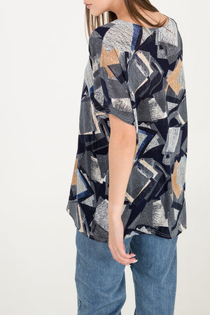 Graphic Print Oversized T-Shirt