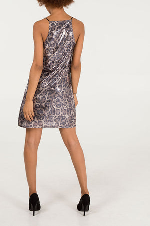 Sequin Animal Cami Dress