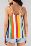 Stripe Cami Top