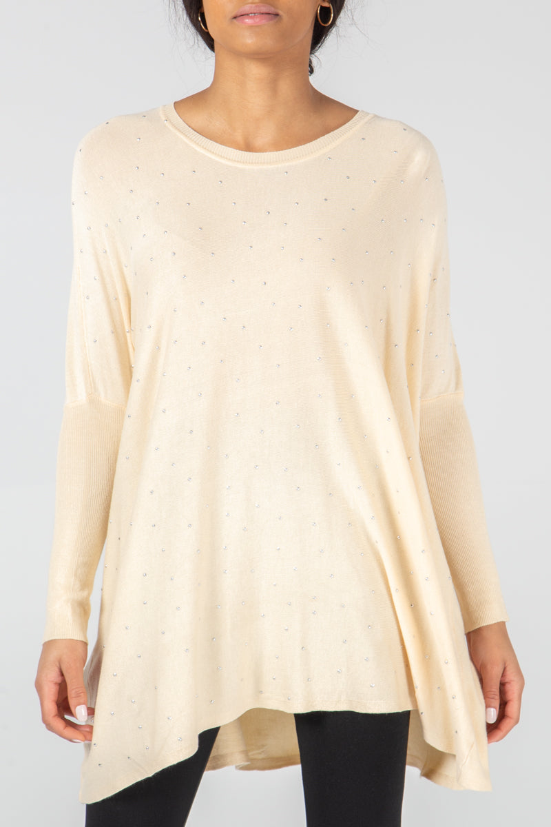 Studded Front Jumper