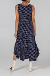 Frill Hem Polka Dot Dress