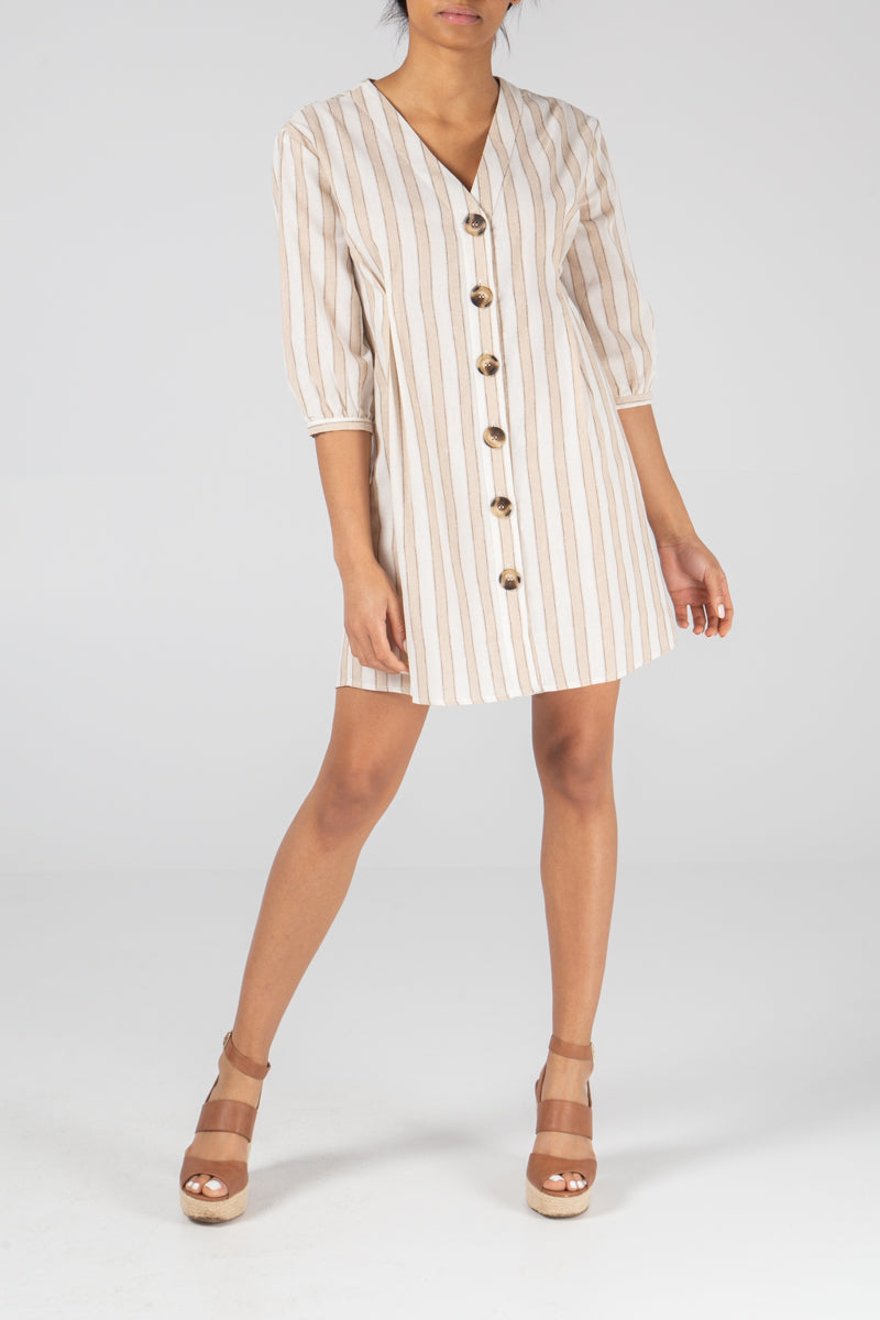 Dart Detail Shirt Dress