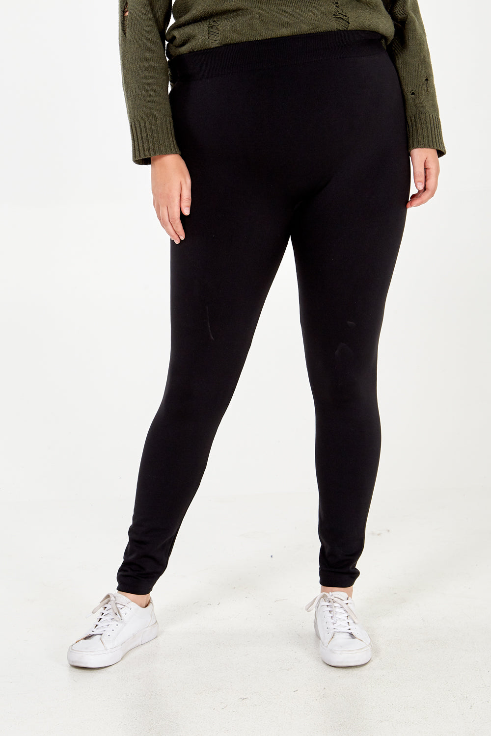 Curve - Fleece Lined Leggings