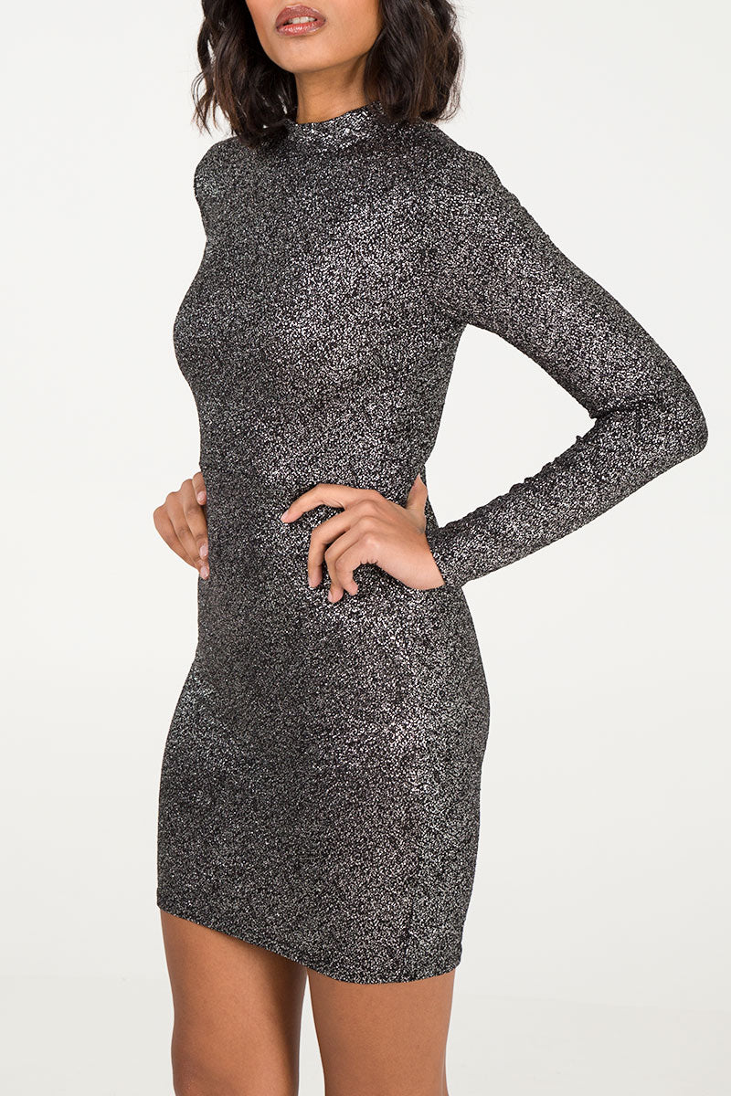 Tie Back Bodycon Party Dress