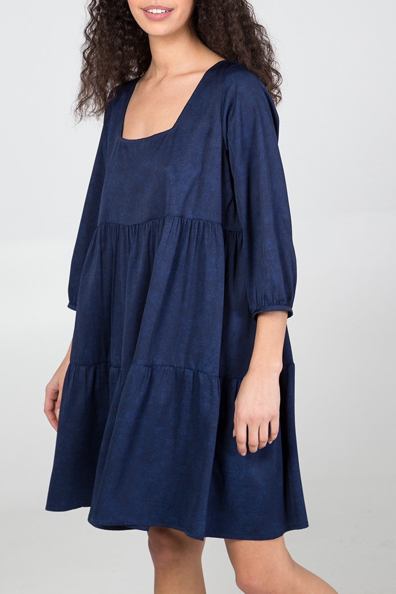 Tiered Smock Dress