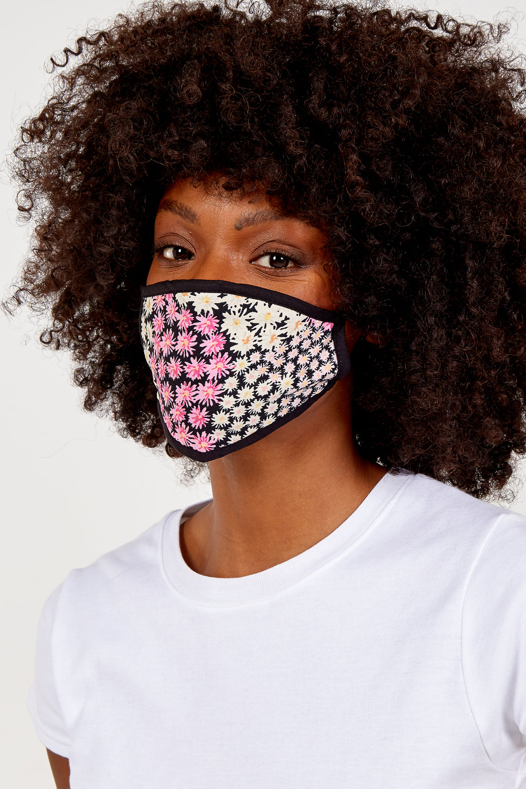 Multicolour Floral Print Fashion Mask