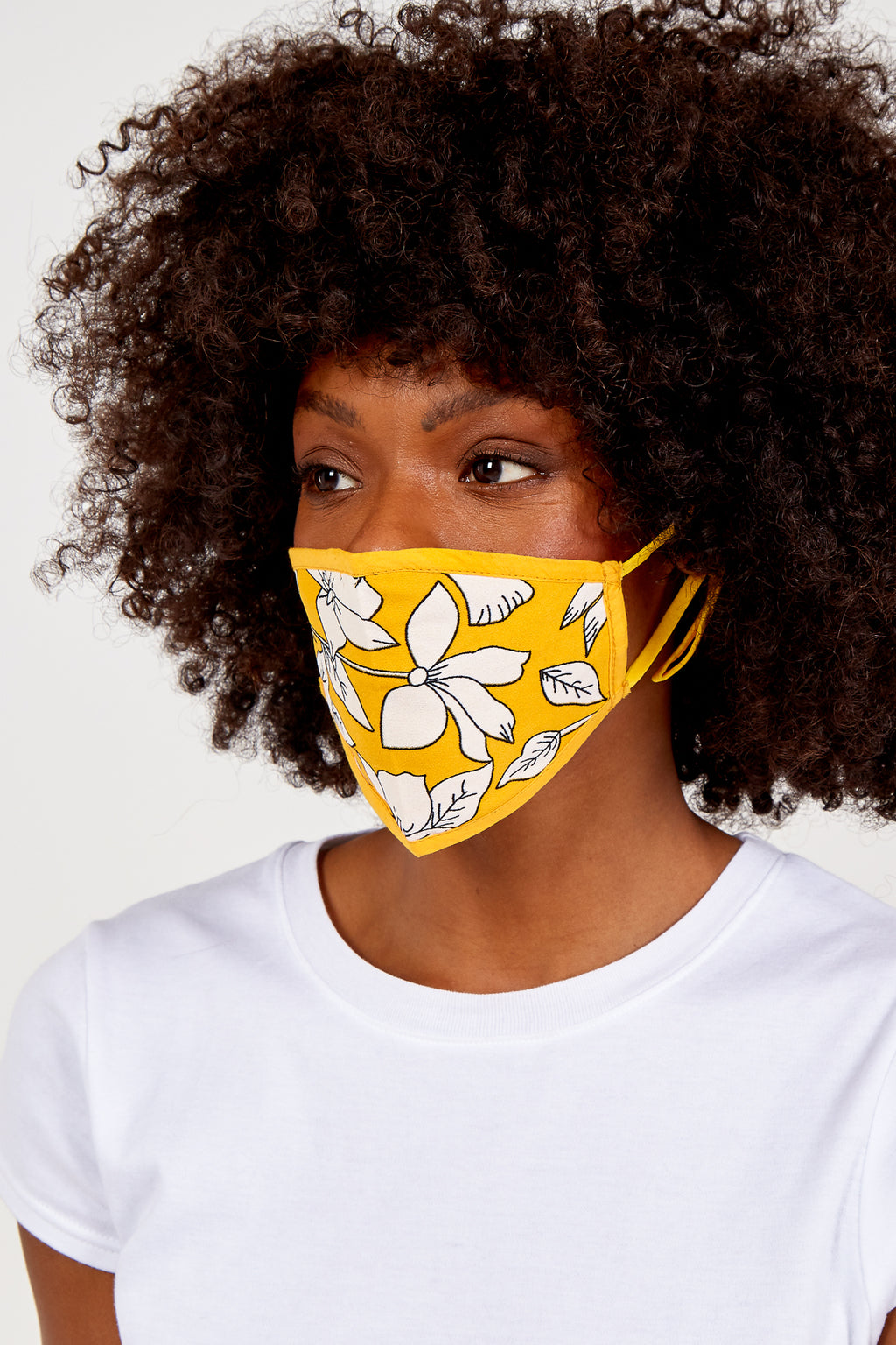 Floral Print Fashion Mask
