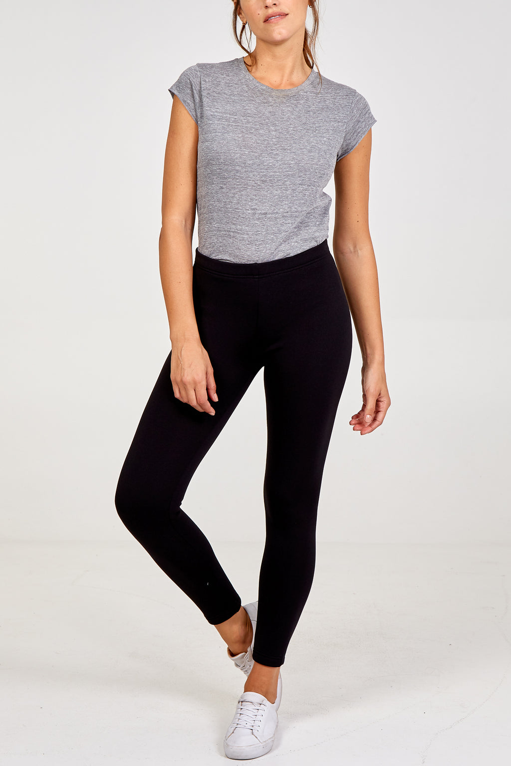 Basic Teddy Fleece Lined Leggings
