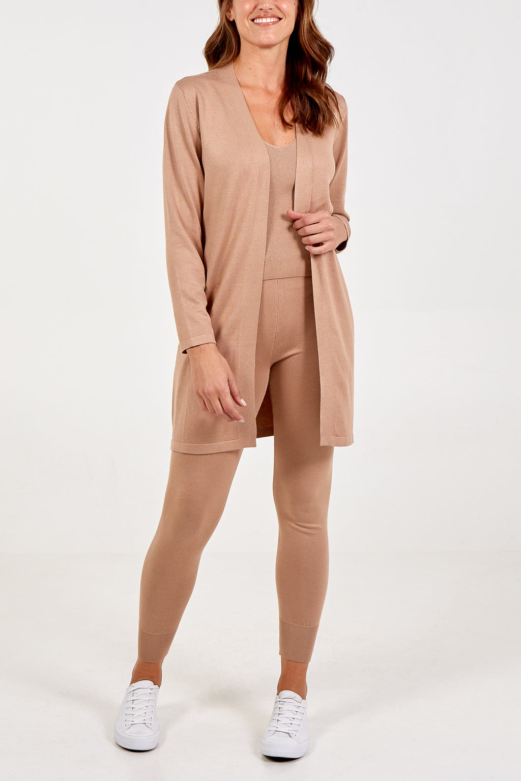 Knitted Three Piece Loungewear Set