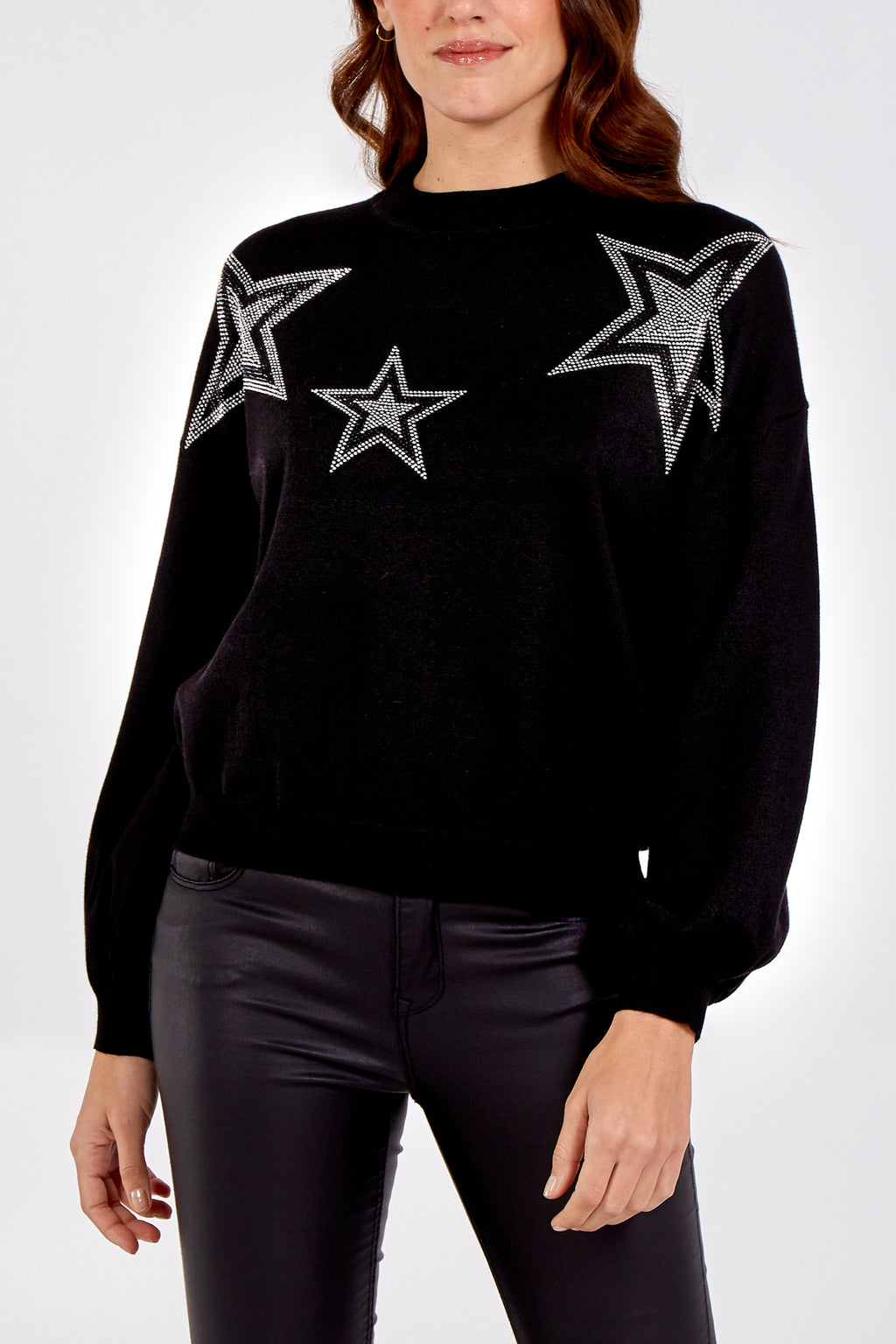Embellished Stars Jumper