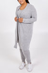 Curve 3 Piece Cardigan, Legging & Vest Set