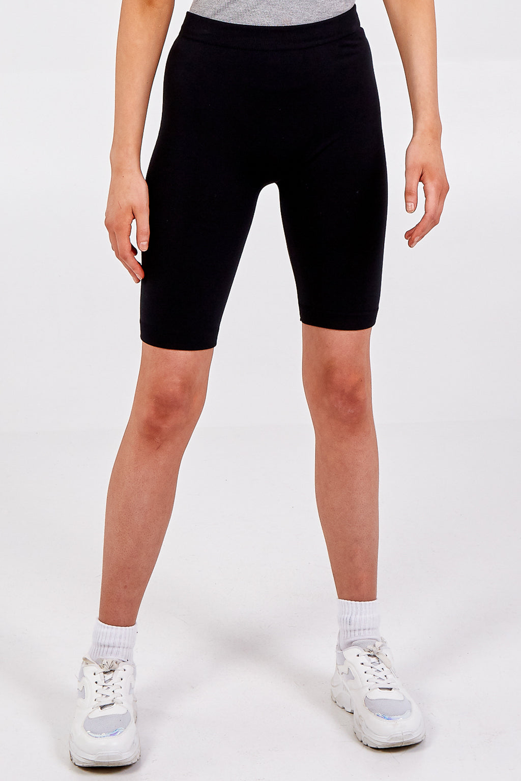 Plain Brushed Cycling Shorts