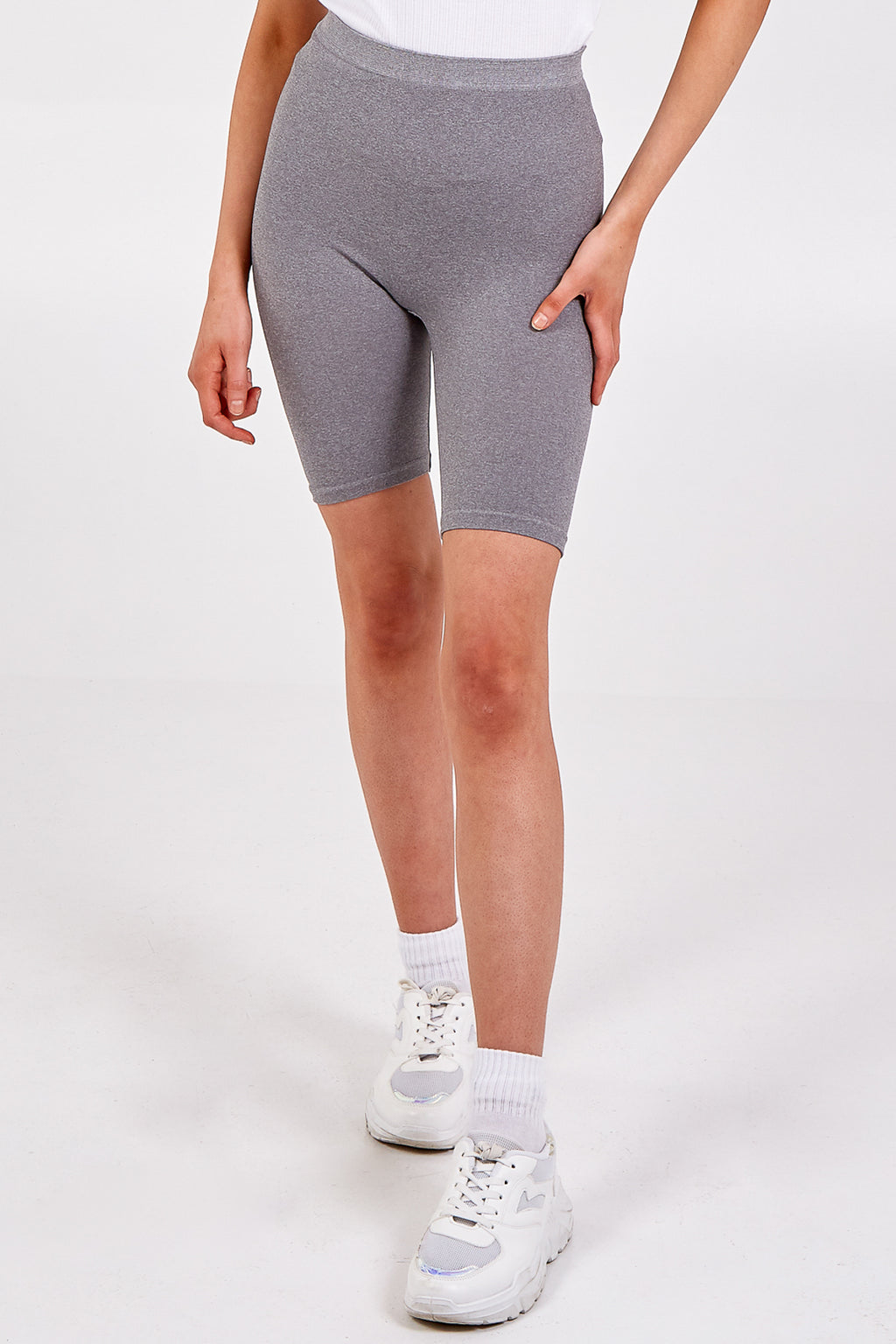 Basic Plain Cycling Shorts