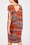 Zig Zag Oversized Dress