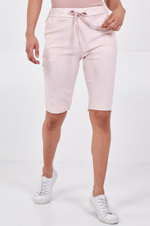 Magic Plain Drawstring Shorts
