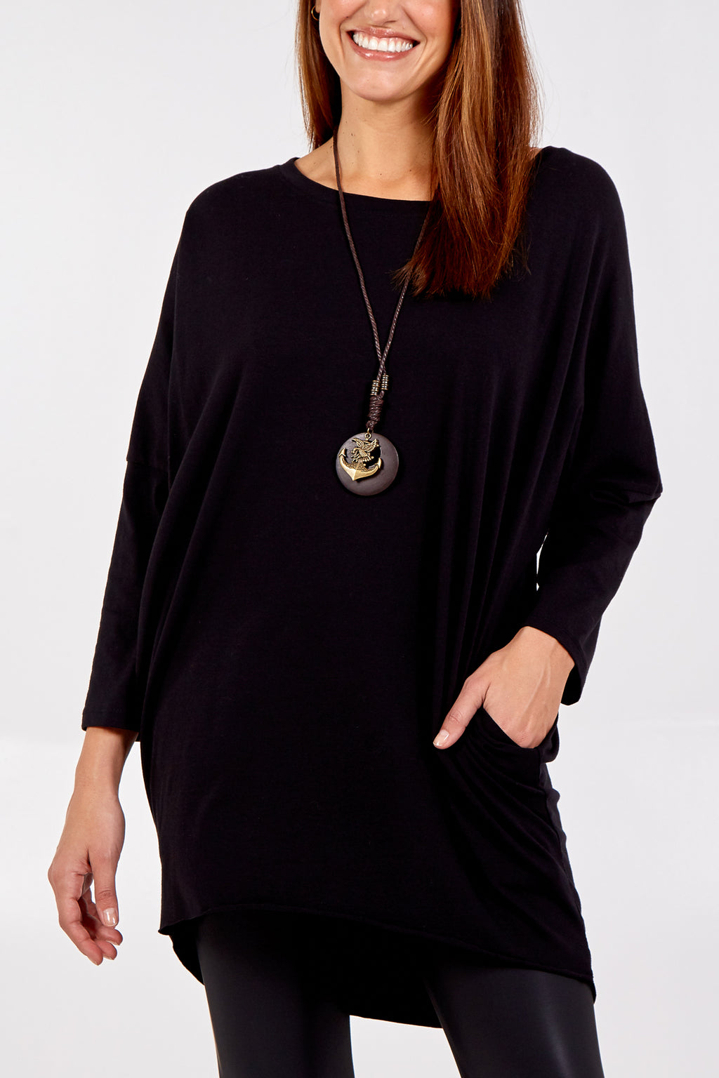 Oversized Necklace Top
