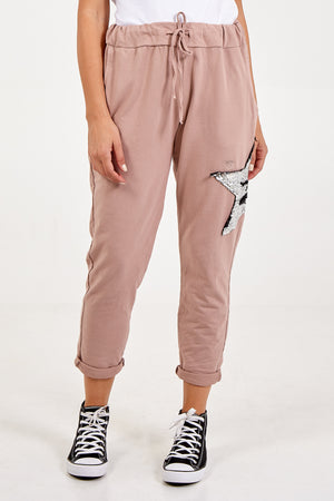 Sequin Star Joggers
