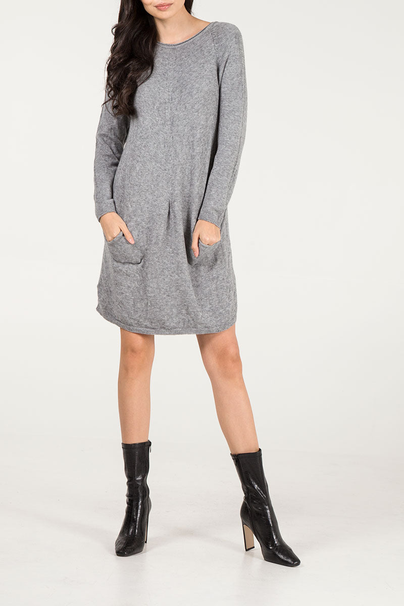 Two Pocket Jumper Dress