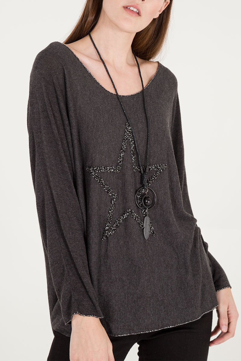 Star Necklace Top