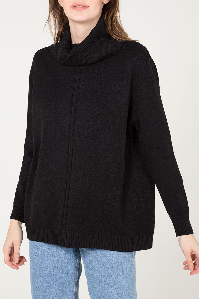 Soft Touch Roll Neck Jumper