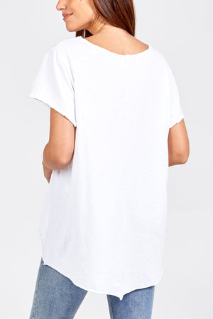 Raw Edge T-Shirt