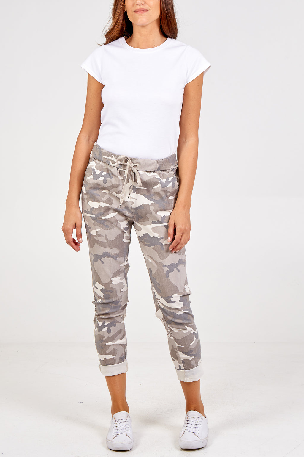 Magic Super Stretch Camouflage Print Joggers