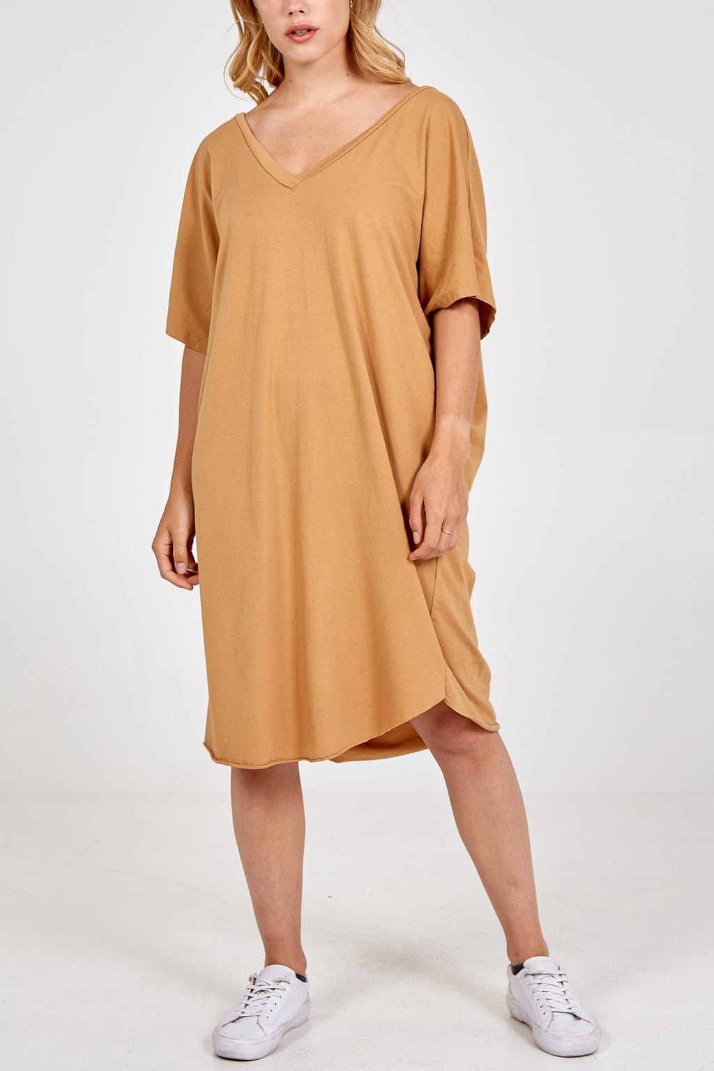 V-Front & V-Back T-Shirt Dress