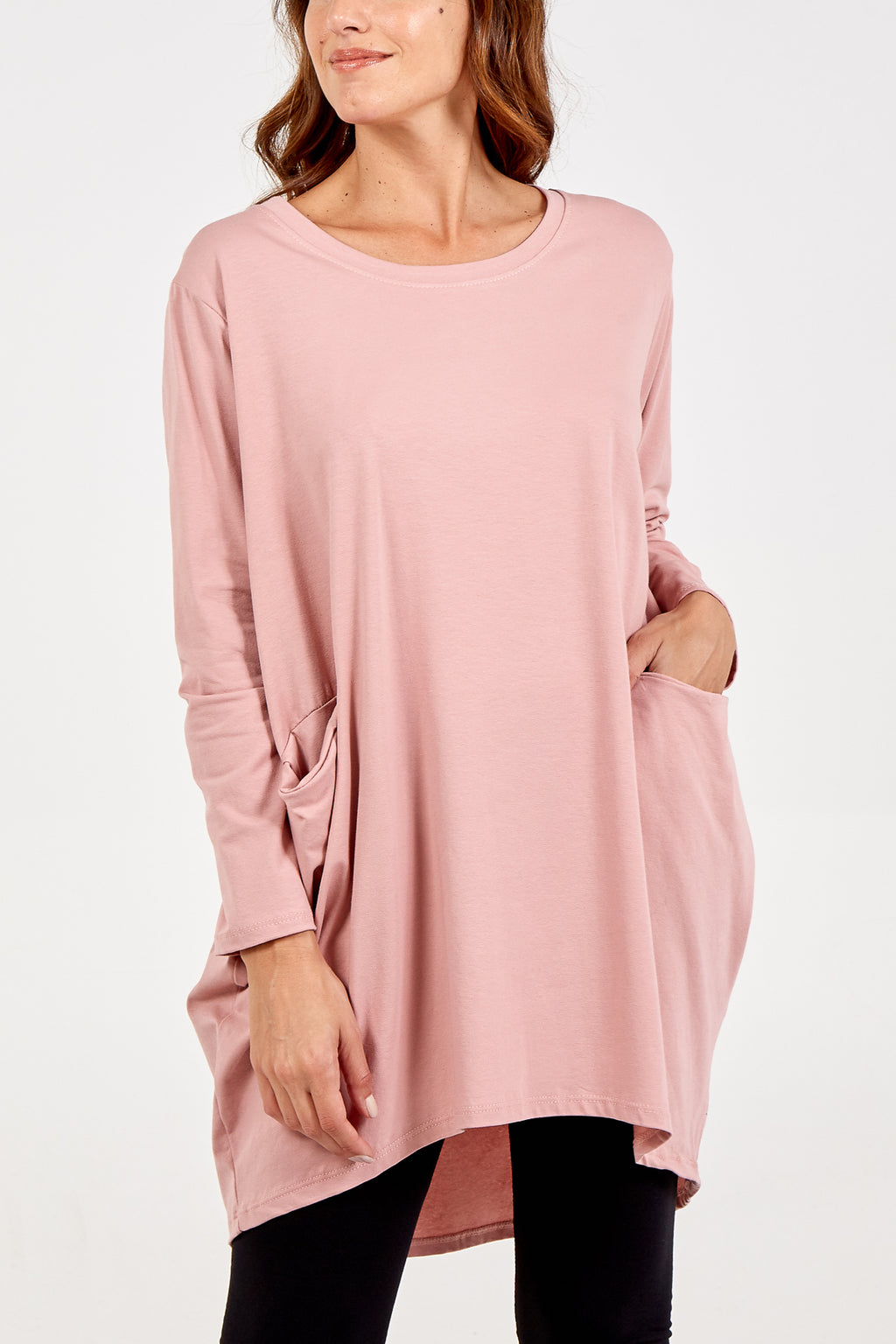 Long Sleeve Two Pocket Top