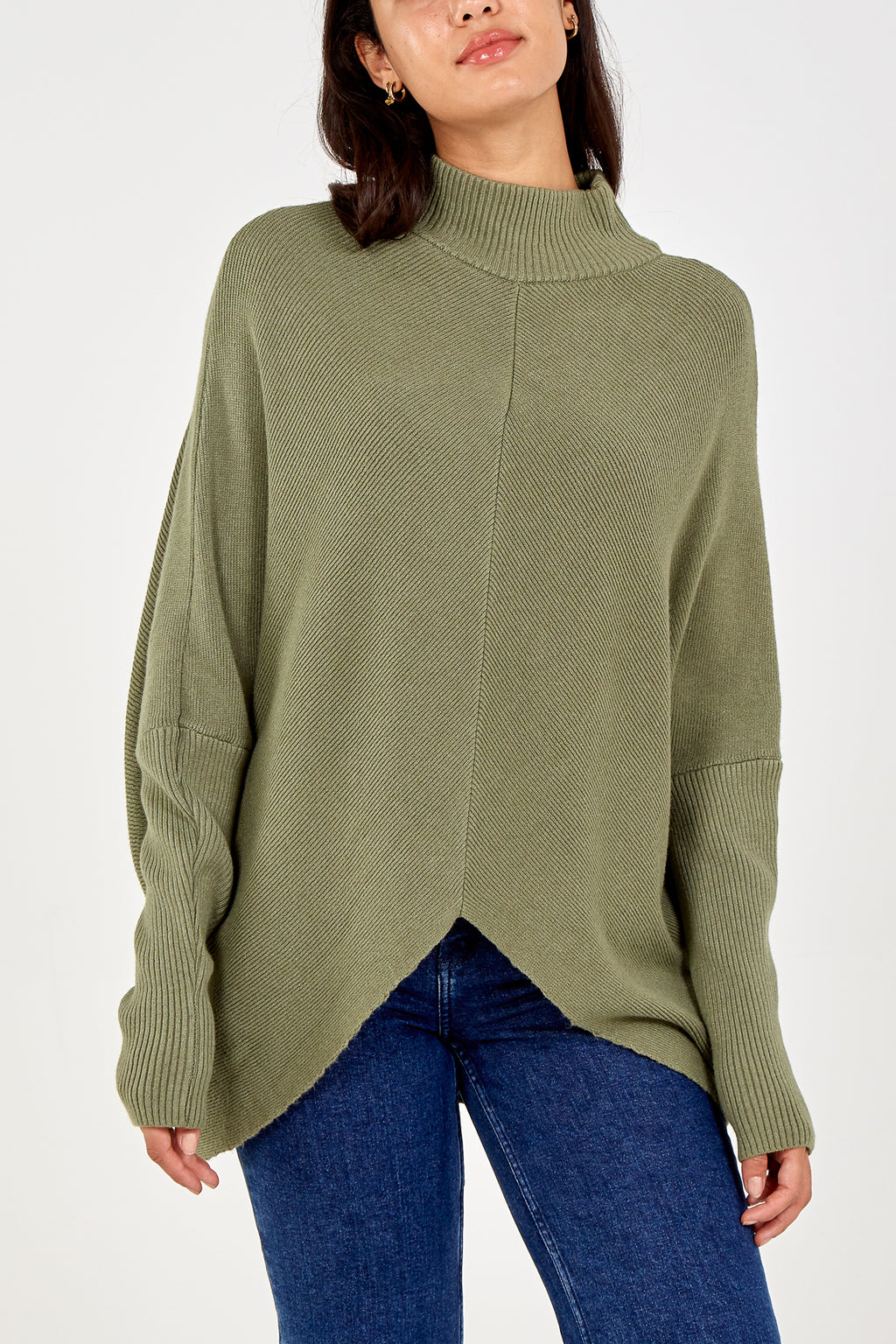Long Sleeve Turtle Neck Jumper