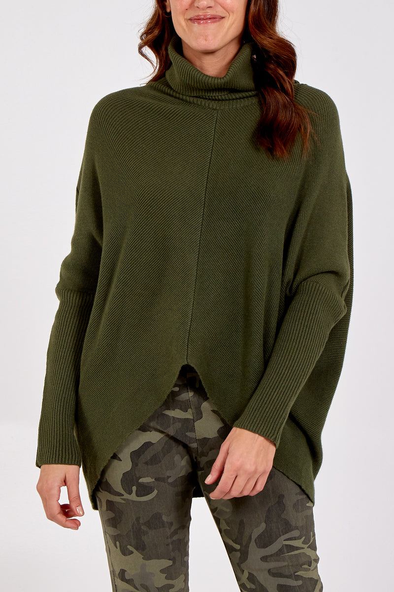 Long Sleeve Roll Neck Jumper