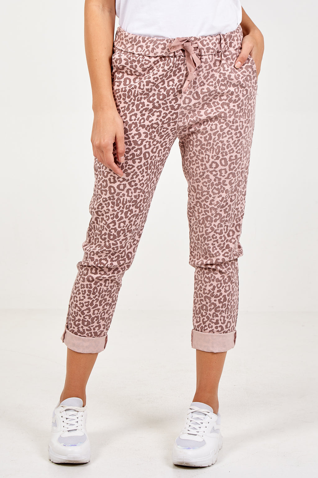 Magic Leopard Print Joggers