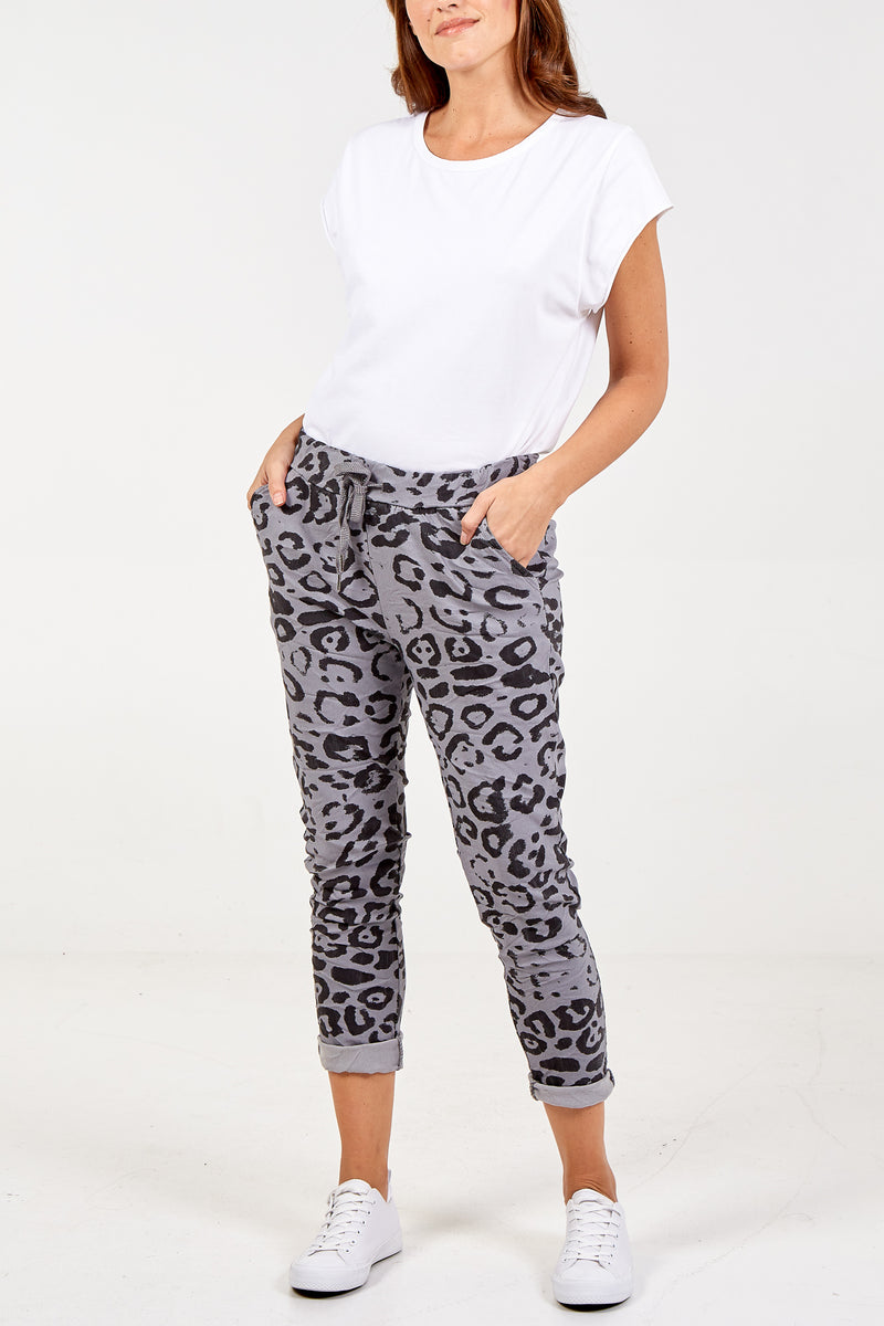 Cheetah Print Magic Super Stretch Joggers