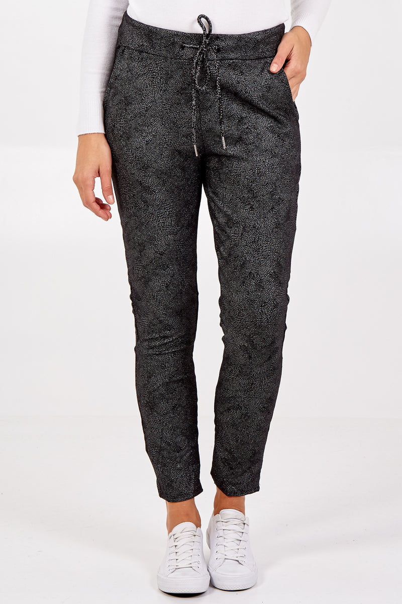Magic Stretch Sparkle Glitter Joggers
