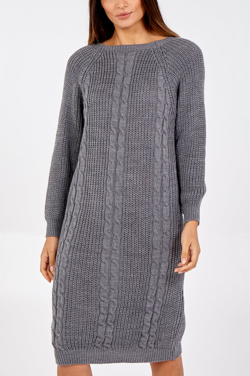Knitted Jumper Dress