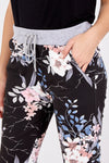 Tropical Flower Print Trousers