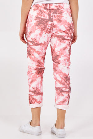 Tie Dye Two Pocket Joggers