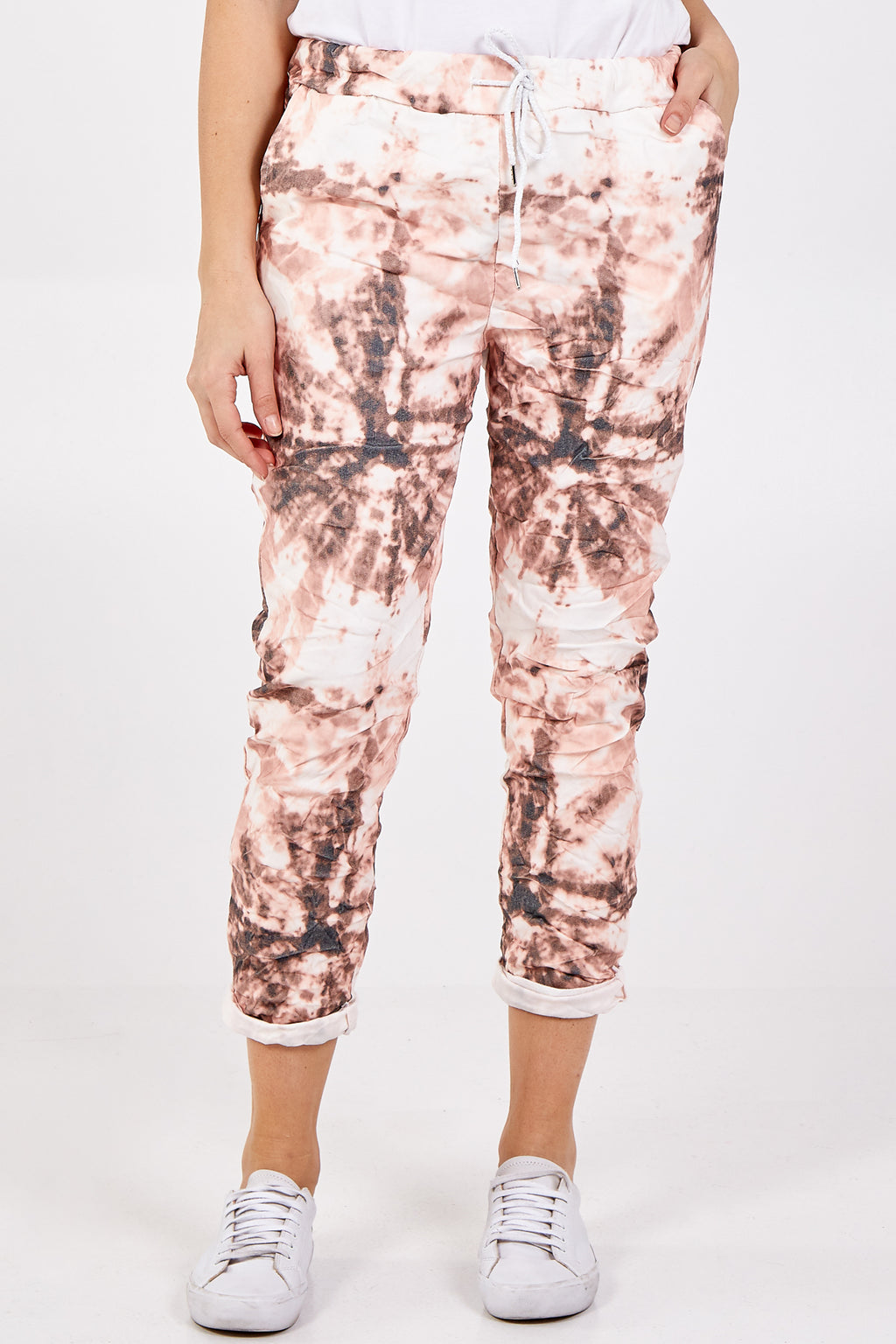 Magic Tie Dye Two Pocket Trouser