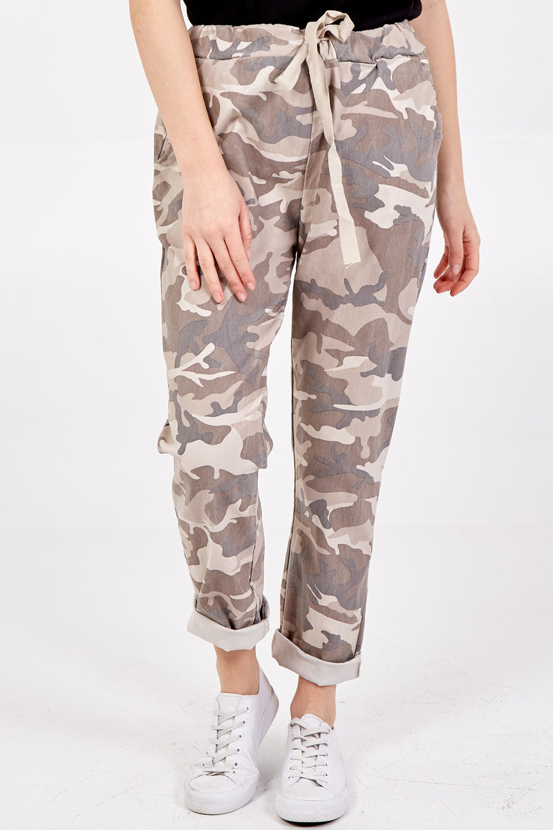 Non Crush Super Stretch Camouflage Trousers (Extra Large)