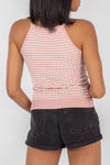 Contrast Ladder Stitch Cami Top