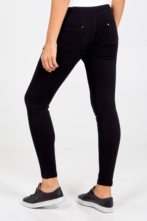 Stretch Denim Trousers