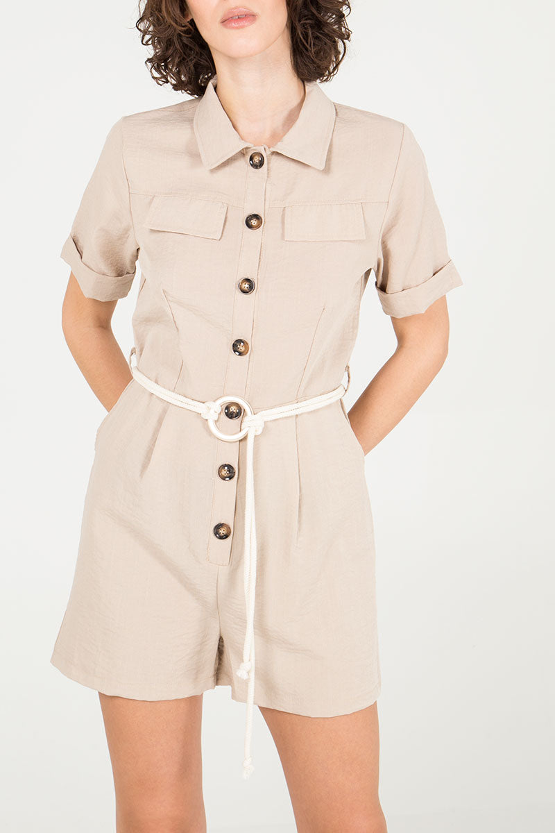 Safari Detail Playsuit