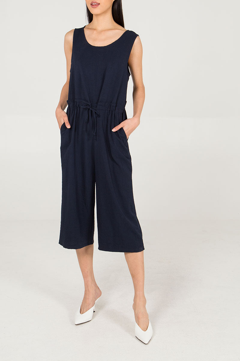 Three Quarter Length Jumpsuit