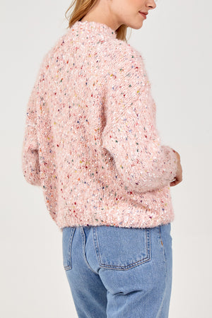 Multi Crop Knitted Jumper