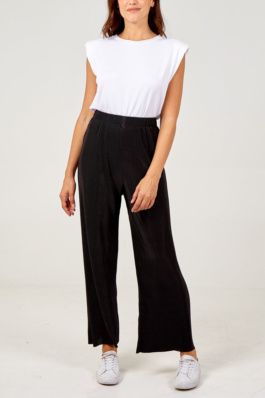 High Waist Floaty Trousers
