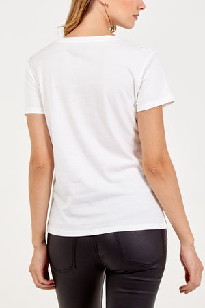 Coco Embellished T-Shirt